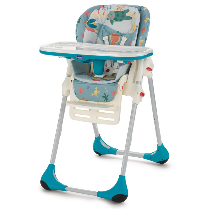 Details about chicco 2016 polly 2 in 1 double phase high chair quot sea