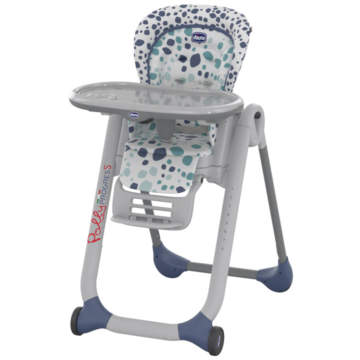 CHICCO 2016 Polly Progres5 Double Phase Highchair Brand