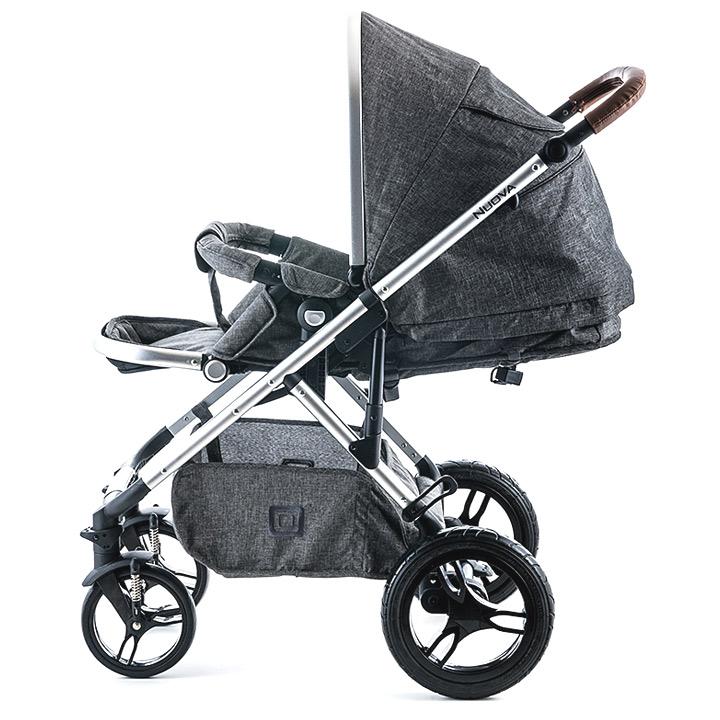 moon 2015 kombi kinderwagen nuova inkl regenverdeck und universal adapter ebay. Black Bedroom Furniture Sets. Home Design Ideas